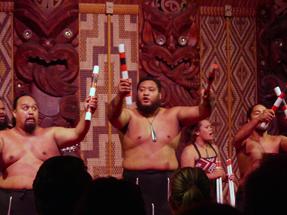 Maori Show at Waitangi Treaty Grounds