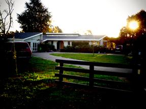 Chris' home