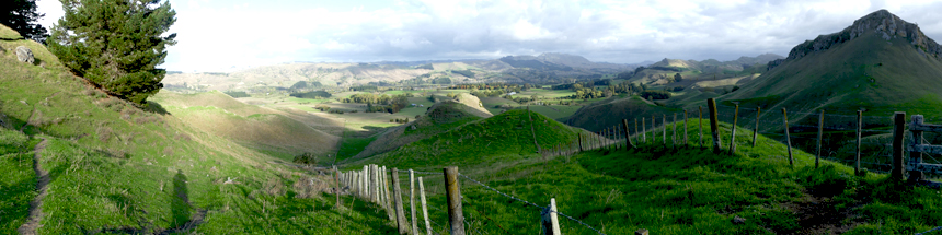 Panorama of Hawke's Bay