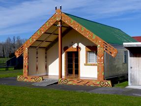 NZ Maori Marae