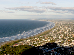 Mt Maunganui summit view