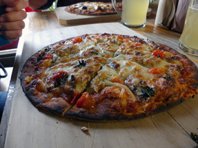 Purangi Winery Pizza
