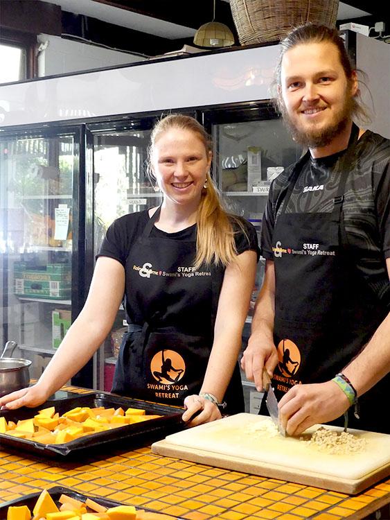 tastethecultures chefs Thomas & Bianca
