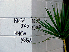 No Yoga. No Joy