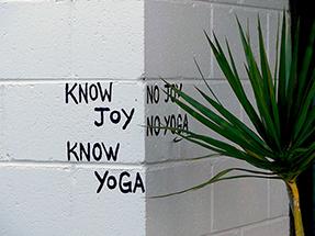 No Yoga. No Joy