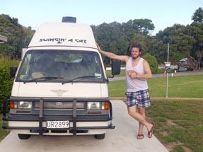 Van well parked