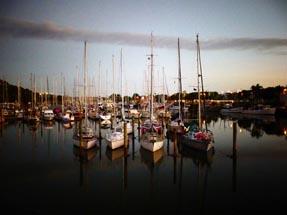 Nightfall Whangarei Marina