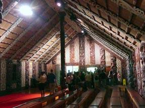 Marae (Meeting house of the Maori)