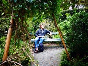 Thomas bench Botanical garden