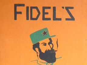 Fidels cafe sign