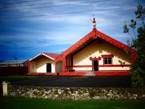 Complete maori marae