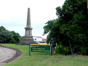 Cook Monument Gisborne