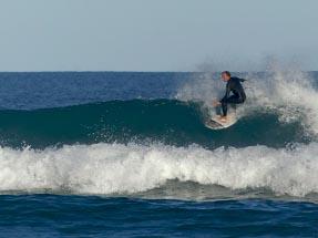 Surfing guy Gisborne