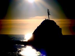 Wairaka Monument Sun