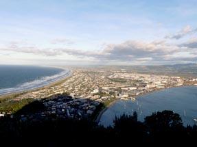 View over Tauranga