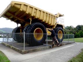 Mining truck Thomas