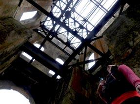 Inside View pumphouse Waihi