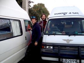 Jump start Van