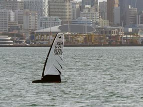 Auckland sailing boat