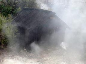Storage hut Maori
