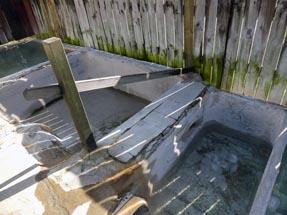 Bathtub hot water