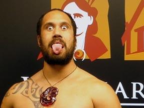 Maori Tongue out