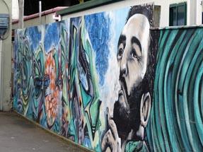 Fidel Castro Grafitti