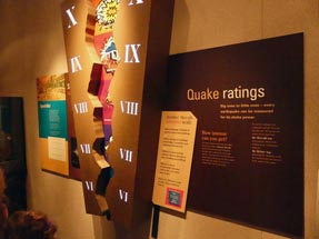 Earthquake rating Te Papa