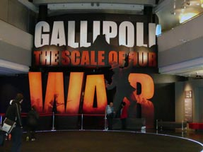 Gallipoli exhibition