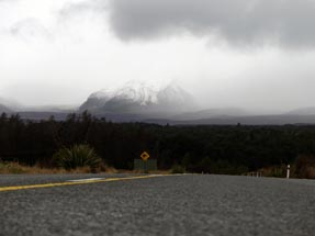Tongariro clouds