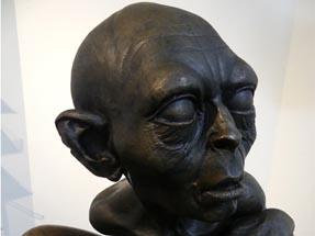 Gollum Bronze statue