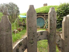 Hobbit house piece of art