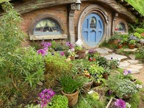Front yard Hobbiton