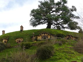 Hill Hobbit houses