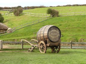 Beer barrel Hobbiton