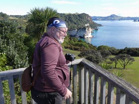 Ulli at Cathedral Cove