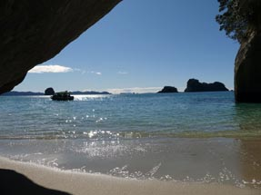 Ausguck Cathedral Cove