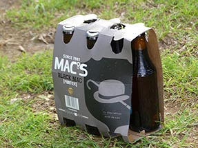 Six Pack Beer Black Mac