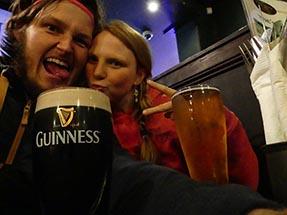 Beer Guiness Napier Pub