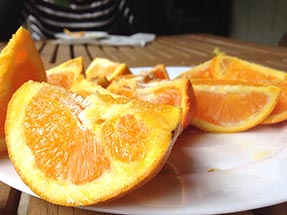 oranges from Aroha Island