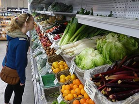 Bianca organic market