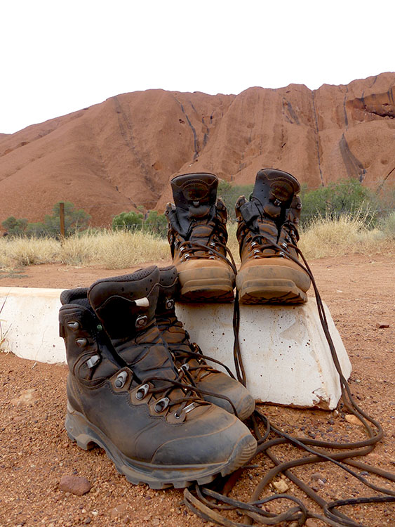 Hiking the Outback