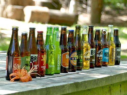 New Zealand beer compilation